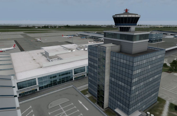 Mega Airport Prague