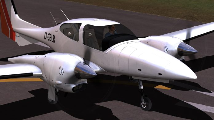 DTG Flight School Diamond DA42