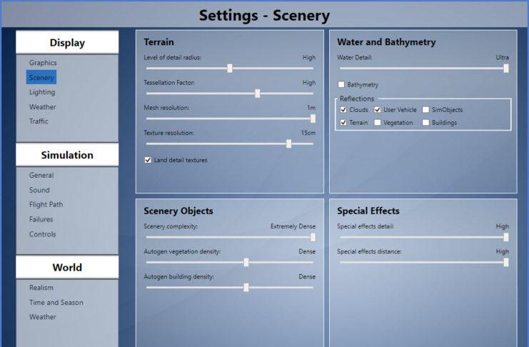 LFMN P3D Settings