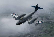 Aeroplane Heaven Gloster Meteor