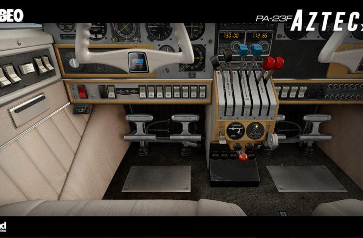 Alabeo Aztec PA-23 F