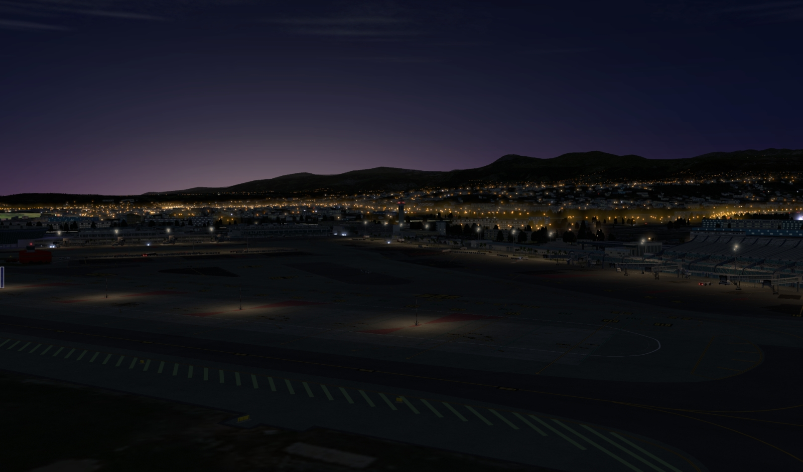 Justsim LFMN X-Plane