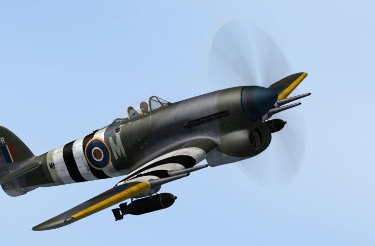 Aeroplane Heaven Hawker Typhoon MK1B