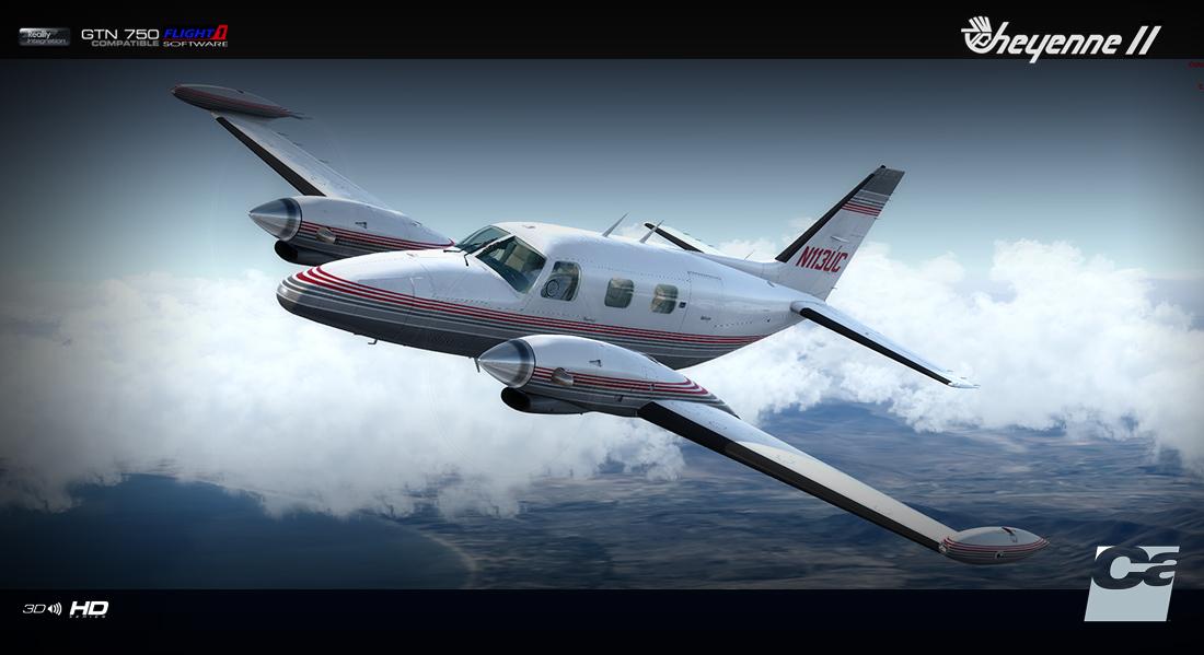 Carenado PA31T Cheyenne II