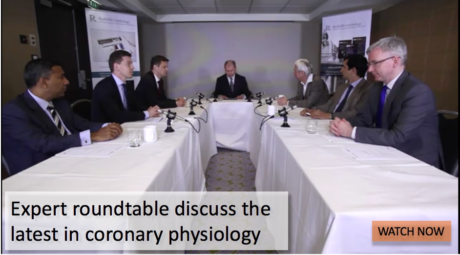 Expert roundtable discuss the latest in coronary physiology