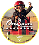 Off Limits Event Professionals circle hover logo