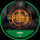 Escapologic circle hover logo