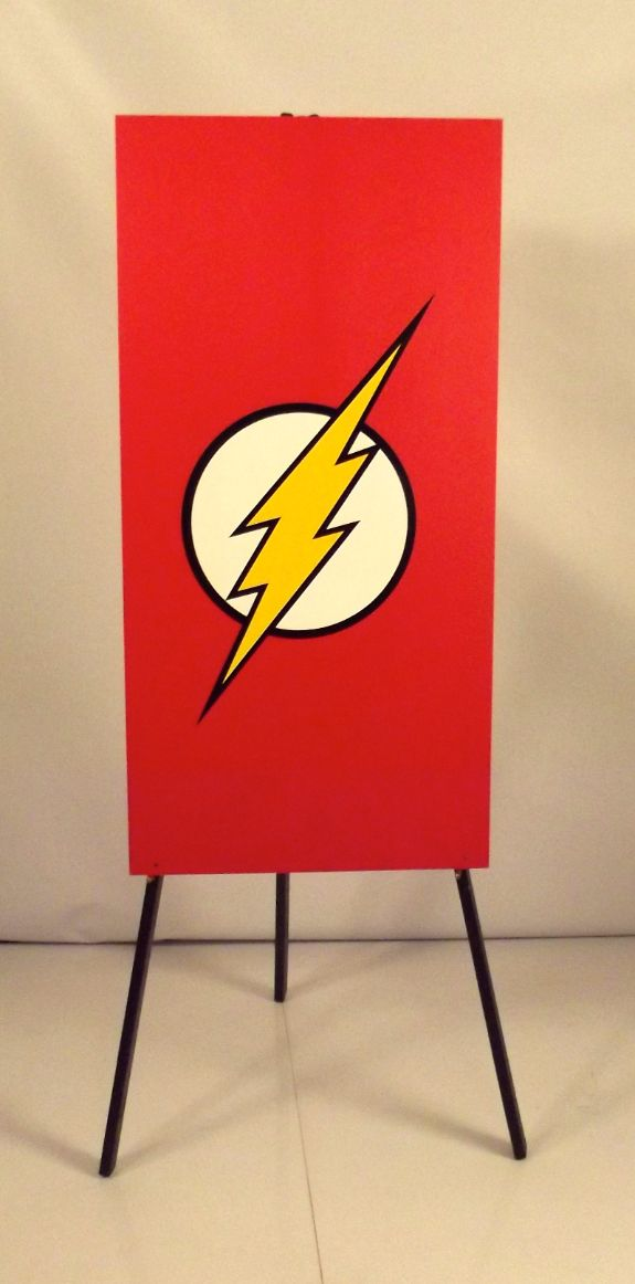 Flash Foamex Flag