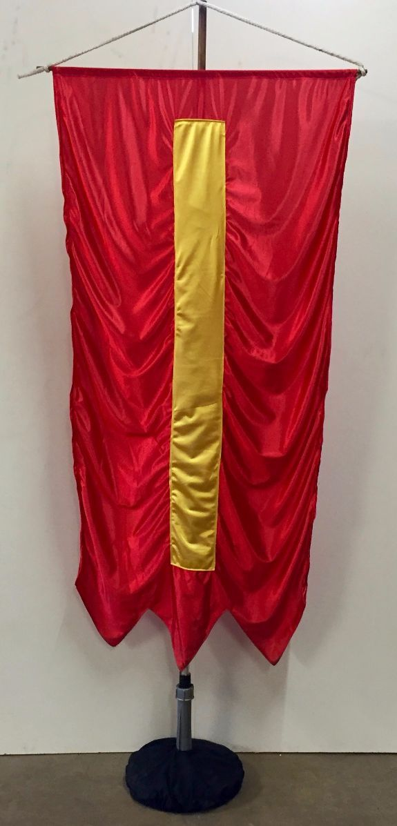 Free Standing Medieval Banner 2
