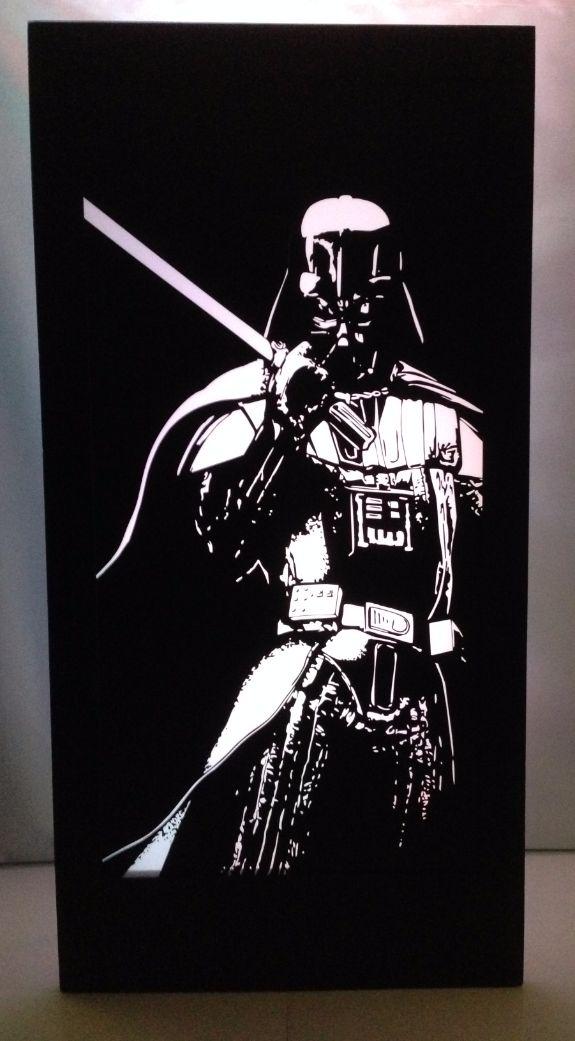 Darth Vader Silhouette Panel