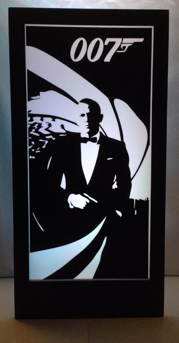 James Bond 007 Silhouette Panel 1