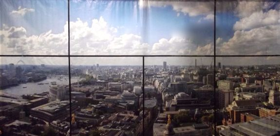 London  Window View 3m x 6m Backdrop