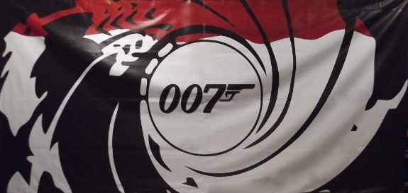 007 Backdrop