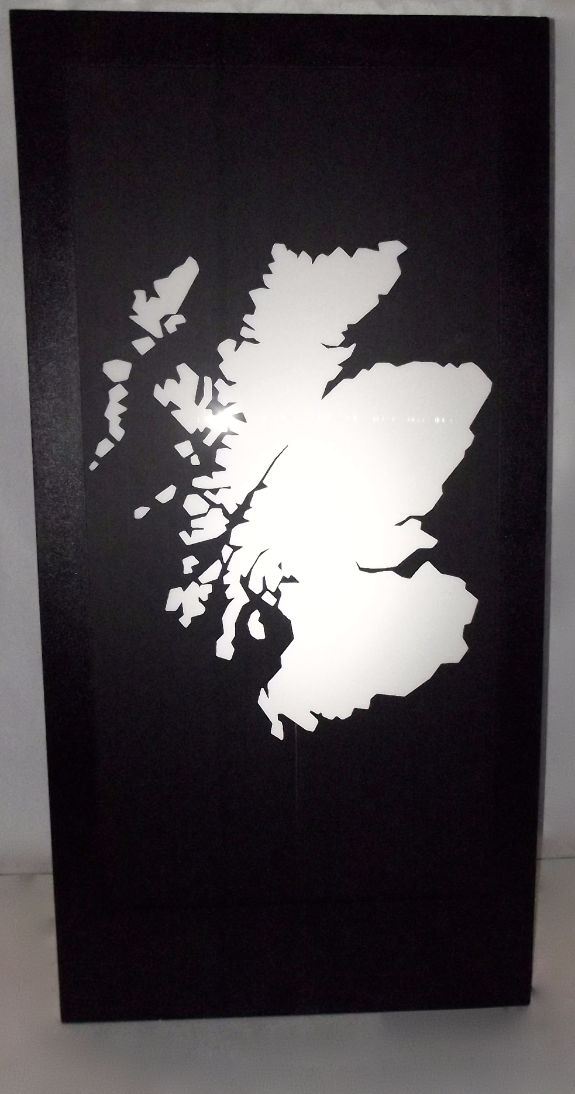 Scotland Silhouette Panel