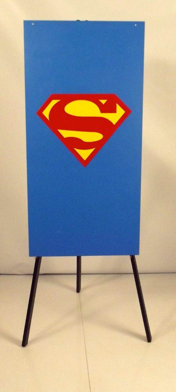 Superman Foamex Flag