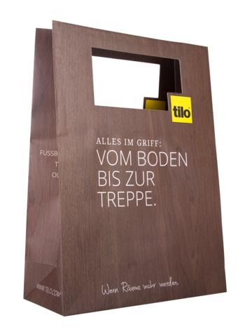 Die Cut Handle Paper Bag