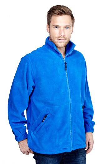 Unisex Adults Classic Full Zip Fleece Jacket