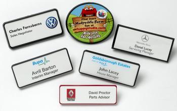 Framed Badges