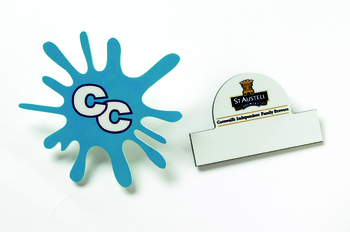 Shaped Standard Badges