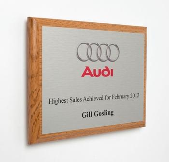 Foil Board Wooden Plaques