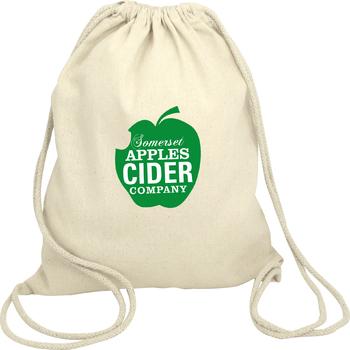 Green & Good Columbia Natural Drawstring Backpack