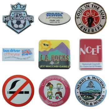 Printed Enamel Badges