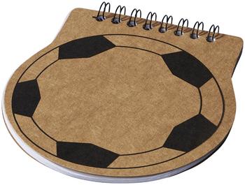 Score Football Shaped Notebook