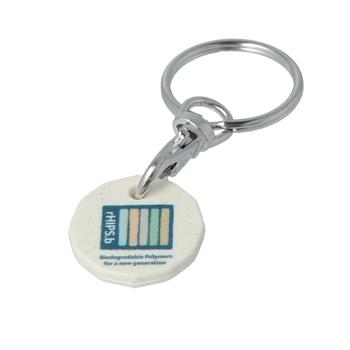 rHIPS-b Trolley Coin Keyring