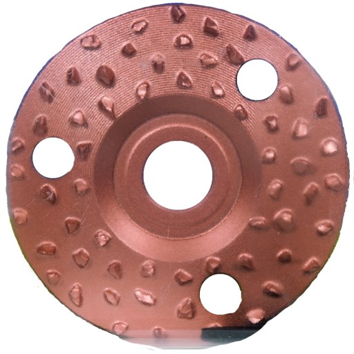 Disque de parage à grain moyen, 125 mm