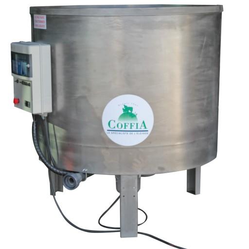 Cuve inox sur pieds 700 litres avec armoire de contrôle