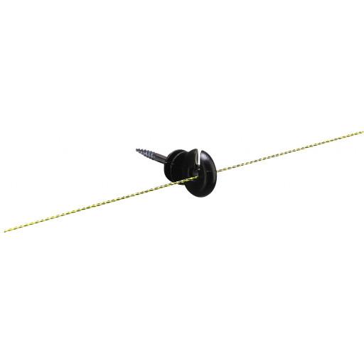 Isolateur annulaire noir X 25