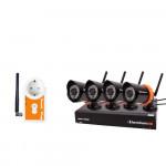 Kit complet FarmCamHD avec 4 caméras et 1 plug LUDAFARM
