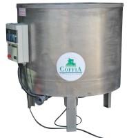 Cuve inox sur pieds 1200 litres avec armoire de contrôle