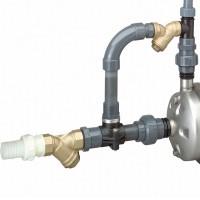 Soupape pour pompe DWO laiton avec filtre