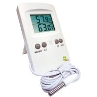 Thermomètre intérieur/extérieur double affichage