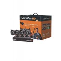 Kit complet 4 caméras de surveillance, Farmcam HD Luda