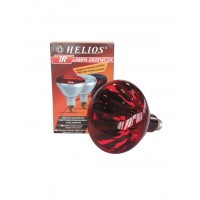 Ampoule Infrarouge Helios 250 W, rouge