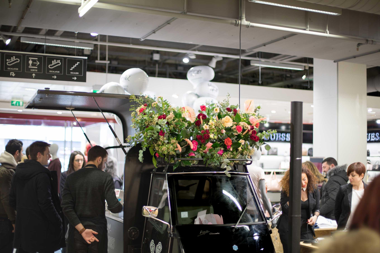 photo événement Galeries Lafayette