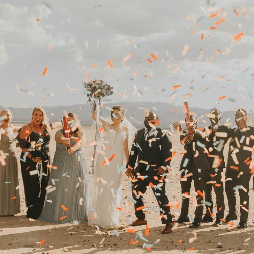 Image de l'article 4 idées pour animer votre mariage avec un photobooth/photomaton