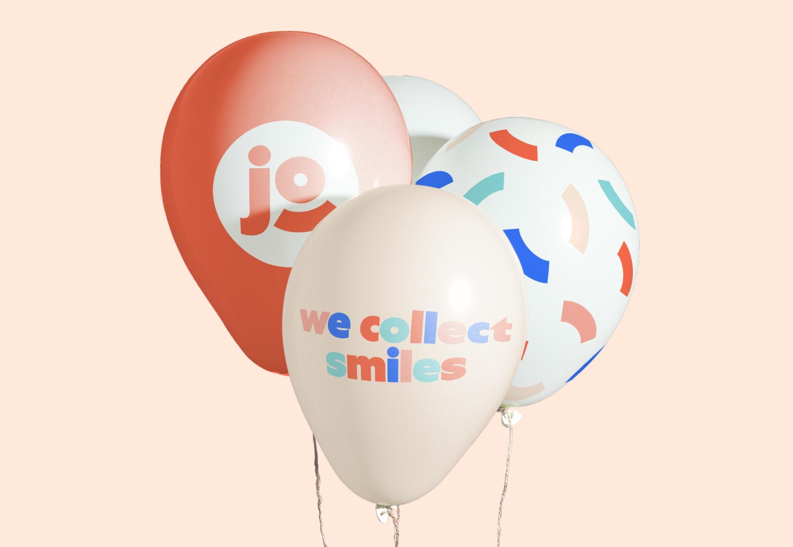 Ballons d'anniversaires Josepho