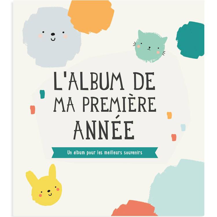 Idees cadeaux baby shower : album photo 1ere annee