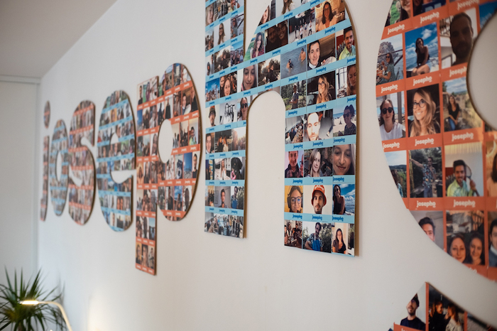 Picture wall animation d'entreprise