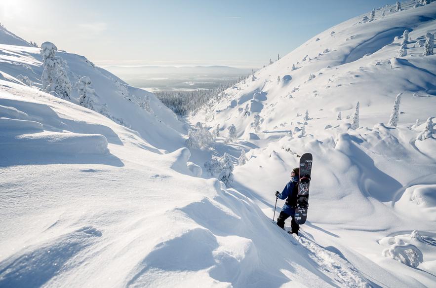 Pyhän maisemat vakuuttivat Antti Autin. Kuva: Jani Kärppä