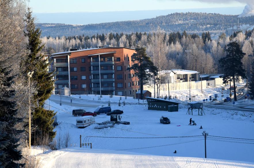 Antikkalan valtti on sijainti Kuopion keskustan tuntumassa.