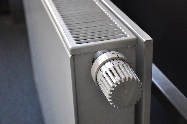 radiator with TRV