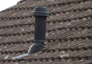 vertical boiler flue