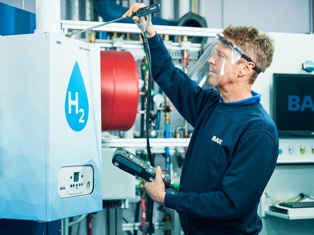 hydrogen gas boiler