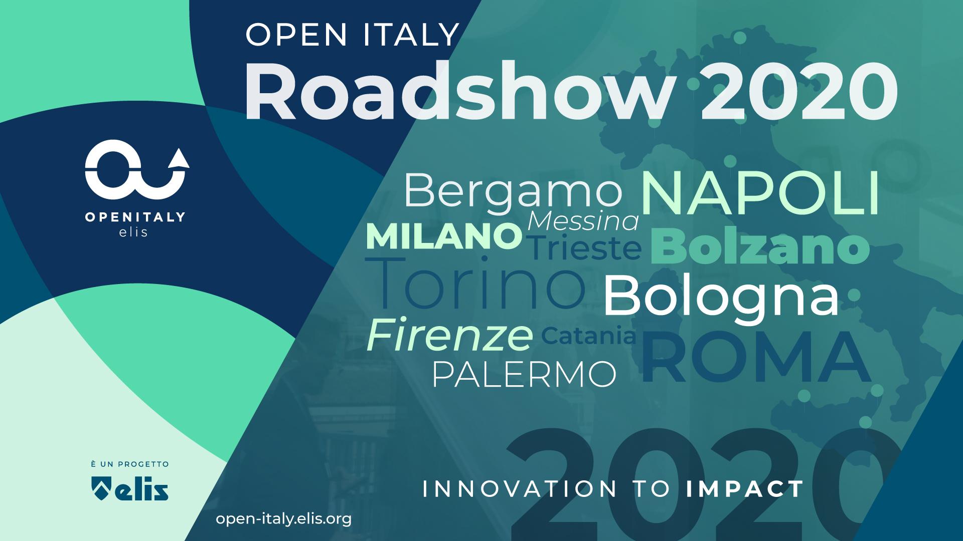 Febbraio è ROADSHOW OPEN ITALY 2020