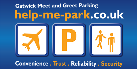 Gatwick Help-me-Park Meet and Greet Parking logo