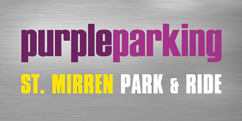 Glasgow Purple St Mirren Park and Ride - Outdoor logo